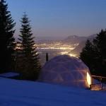 igloo w Szwajcarii