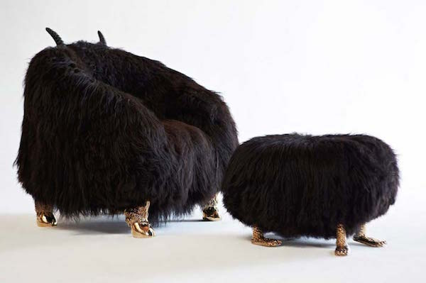 Black-Beast-Club-Chair-with-Black-Beast-Foot-Stool