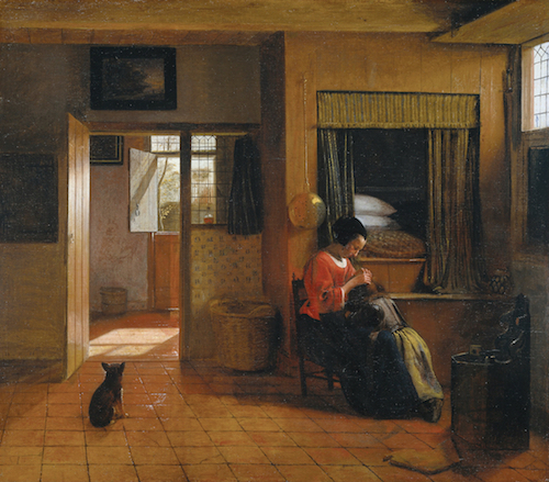 Pieter_de_Hooch_Binnenkamer