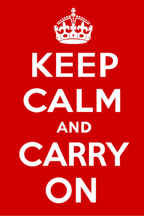 KeepCalm poster